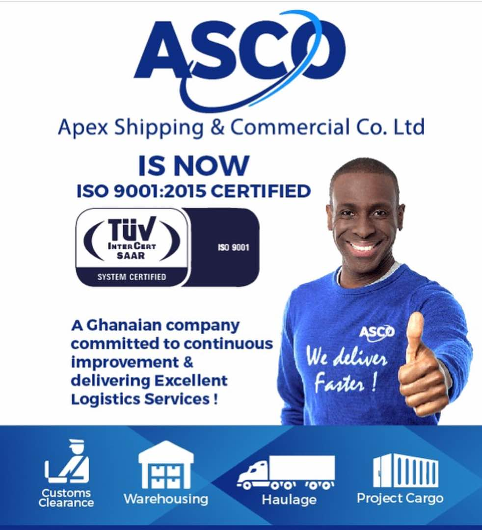 ASCO BECOMES ISO 9001:2015 CERTIFIED